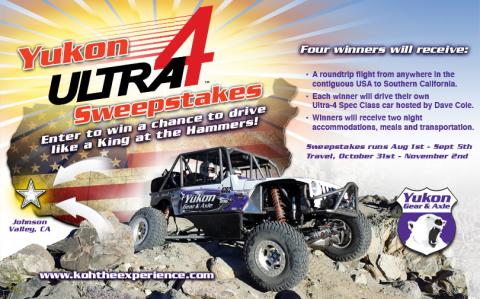 Yukon Gear & Axle ULTRA4 Sweepstakes!   Ultra4 Racing