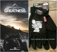2016 Of Grit and Greatness DVD w/ Gloves  PRE ORDER