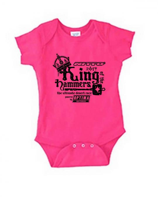 2017 King of the Hammers Baby Onesie Ultra4 Racing KOH