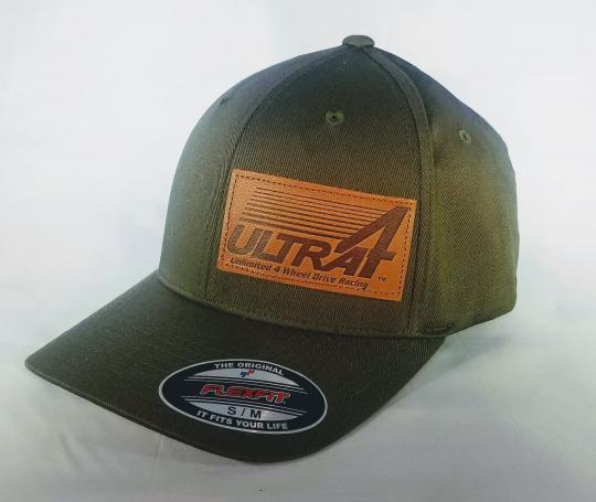 Ultra4 Military Green Twill Flexfit Hat | Ultra4 Racing