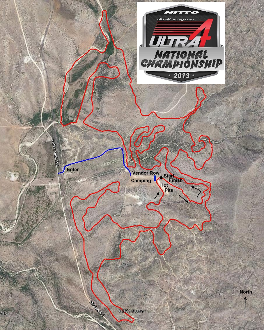 Nitto National Championship Course Map
